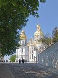 Ουκρανία Κίεβο lavra του Κίεβου pechersk Καθεδρικός ναός του Dormition Στοκ Εικόνες