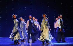 Ουκρανία ο εξωτικός-παγκόσμιος χορός της Αυστρίας στοκ φωτογραφία