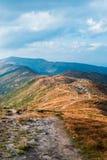 Ουκρανία, Carpathians mauntains, hernogirskiy σειρά Ð ¡ στοκ φωτογραφίες