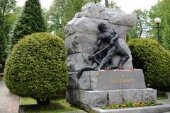 Ουκρανία, Lviv - το Μάιο του 2019: Τάφος του Ivan Franko στοκ φωτογραφίες με δικαίωμα ελεύθερης χρήσης