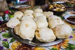 Ουκρανικές λαϊκές μπουλέττες τροφίμων Στοκ Εικόνα