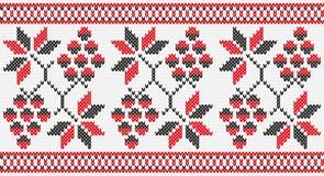Ουκρανική άνευ ραφής σύσταση λυκίσκων σταφυλιών διακοσμήσεων απεικόνιση αποθεμάτων