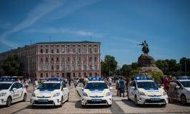 Ουκρανική αστυνομία Στοκ φωτογραφία με δικαίωμα ελεύθερης χρήσης