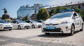 Ουκρανική αστυνομία Στοκ Φωτογραφία