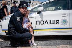 Ουκρανική αστυνομία Στοκ Φωτογραφίες