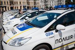 Ουκρανική αστυνομία Στοκ Εικόνες