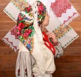 ουκρανική γυναίκα Στοκ Εικόνα