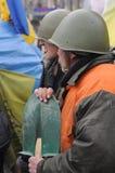 Ουκρανική επανάσταση 2014 Στοκ φωτογραφία με δικαίωμα ελεύθερης χρήσης