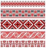 Ουκρανική διακόσμηση κεντητικής απεικόνιση αποθεμάτων