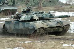 Ουκρανική κύρια δεξαμενή τ-84 μάχης Oplot Στοκ εικόνες με δικαίωμα ελεύθερης χρήσης