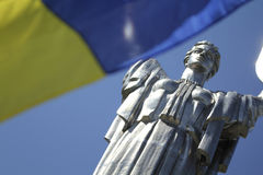 Ουκρανική μητέρα πατρίδα Στοκ Εικόνες