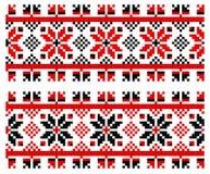 Ουκρανική παραδοσιακή διακόσμηση Στοκ Φωτογραφία