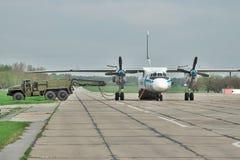 Ουκρανική Πολεμική Αεροπορία ένας-26 Στοκ Φωτογραφία