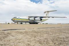 Ουκρανική στρατιωτική μεταφορά Στοκ εικόνα με δικαίωμα ελεύθερης χρήσης