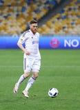 Ουκρανική δυναμό Kyiv παιχνιδιών FC της Premier League εναντίον Volyn Lutsk Στοκ φωτογραφία με δικαίωμα ελεύθερης χρήσης