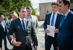 Ουκρανικοί πολιτικοί στοκ εικόνες