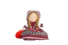 Ουκρανικός παραδοσιακός η κούκλα παιχνιδιών στοκ εικόνες