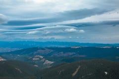 Ουκρανικό βουνό Goverla Στοκ Φωτογραφία