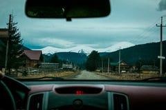 Ουκρανικό βουνό Goverla Στοκ Εικόνες
