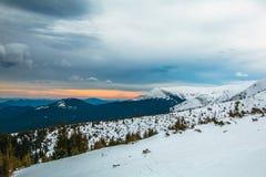 Ουκρανικό βουνό Goverla Στοκ φωτογραφίες με δικαίωμα ελεύθερης χρήσης