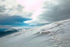 Ουκρανικό βουνό Goverla Στοκ Εικόνα