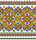 Ουκρανικό εθνικό παραδοσιακό σχέδιο πουκάμισων Στοκ Φωτογραφία