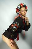 Ουκρανικό κορίτσι Στοκ Φωτογραφίες
