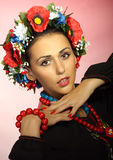 Ουκρανικό κορίτσι Στοκ φωτογραφία με δικαίωμα ελεύθερης χρήσης