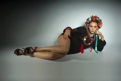 Ουκρανικό κορίτσι Στοκ εικόνα με δικαίωμα ελεύθερης χρήσης