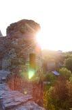 Ουκρανικό μεσαιωνικό φρούριο όψη της πόλης Ουκρανίας podilskyi κάστρων kamianets παλαιά Άποψη επάνω Στοκ φωτογραφία με δικαίωμα ελεύθερης χρήσης