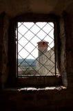 Ουκρανικό μεσαιωνικό φρούριο όψη της πόλης Ουκρανίας podilskyi κάστρων kamianets παλαιά Άποψη επάνω Στοκ Εικόνα
