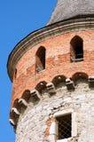 Ουκρανικό μεσαιωνικό φρούριο όψη της πόλης Ουκρανίας podilskyi κάστρων kamianets παλαιά Άποψη επάνω Στοκ εικόνες με δικαίωμα ελεύθερης χρήσης