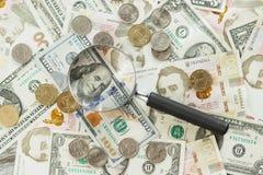 Ουκρανικό hryvnia και αμερικανικά δολάρια ` s Στοκ φωτογραφίες με δικαίωμα ελεύθερης χρήσης