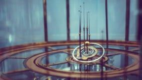 Ουράνιο πρότυπο συστημάτων τροχιάς κόσμου στοκ φωτογραφία με δικαίωμα ελεύθερης χρήσης