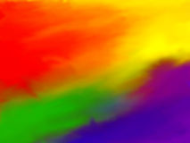ουράνιο τόξο ανασκόπησης Στοκ Εικόνες