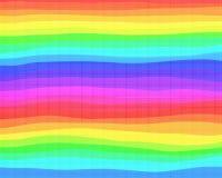 ουράνιο τόξο ανασκόπησης απεικόνιση αποθεμάτων