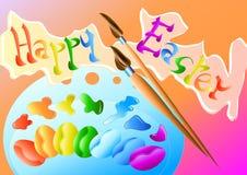 ουράνιο τόξο αυγών χρωμάτω&nu Στοκ Εικόνες