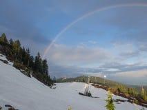 Ουράνιο τόξο βουνών αγριόγαλλων Στοκ εικόνες με δικαίωμα ελεύθερης χρήσης