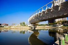 ουράνιο τόξο γεφυρών Στοκ Φωτογραφίες