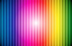 ουράνιο τόξο γραμμών ανασκό Στοκ φωτογραφίες με δικαίωμα ελεύθερης χρήσης