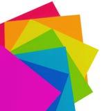 ουράνιο τόξο εγγράφου Στοκ φωτογραφίες με δικαίωμα ελεύθερης χρήσης