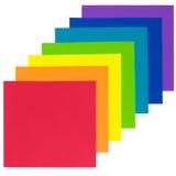ουράνιο τόξο εγγράφου Στοκ εικόνες με δικαίωμα ελεύθερης χρήσης