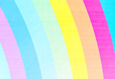ουράνιο τόξο καμβά διανυσματική απεικόνιση