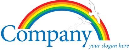 ουράνιο τόξο λογότυπων Στοκ εικόνα με δικαίωμα ελεύθερης χρήσης