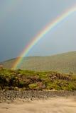ουράνιο τόξο παραλιών Στοκ εικόνες με δικαίωμα ελεύθερης χρήσης