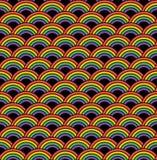 ουράνιο τόξο προτύπων άνευ ραφής Στοκ Εικόνα