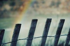 ουράνιο τόξο πτώσεων Στοκ Φωτογραφίες