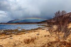 Ουράνιο τόξο στην παραλία Στοκ φωτογραφίες με δικαίωμα ελεύθερης χρήσης