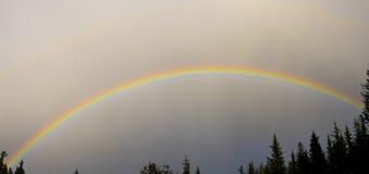 Ουράνιο τόξο στον ουρανό Στοκ φωτογραφίες με δικαίωμα ελεύθερης χρήσης