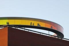 Ουράνιο τόξο στο μουσείο Aros Στοκ Εικόνα